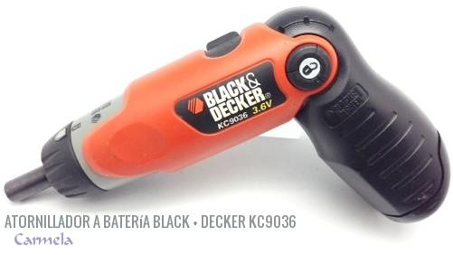 atornillador a bater a black decker kc9036 barraca carmela