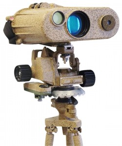 Medidor láser de grado militar.