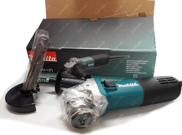 Contenido de la caja de la amoladora Makita 955